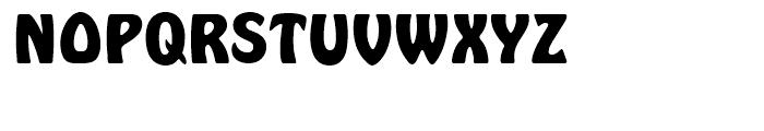 Hobo Bold Font UPPERCASE