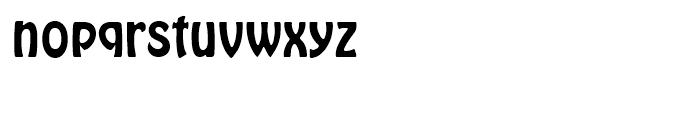 Hobo Regular Font LOWERCASE