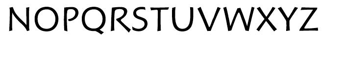 Hoffmann Book Expert Font UPPERCASE