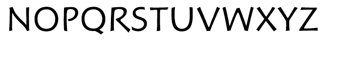 Hoffmann Book Font UPPERCASE