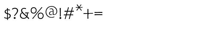 Hoffmann Light Expert Font OTHER CHARS