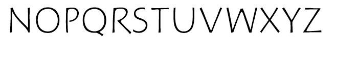 Hoffmann Light Expert Font UPPERCASE