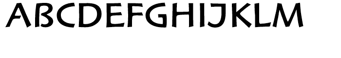 Hoffmann Roman Expert Font UPPERCASE