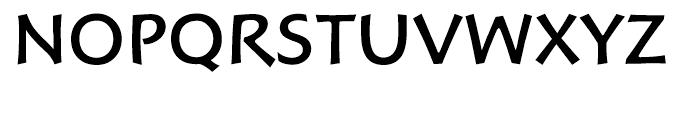 Hoffmann Roman Font UPPERCASE