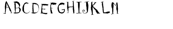 Holy Cow Regular Font UPPERCASE