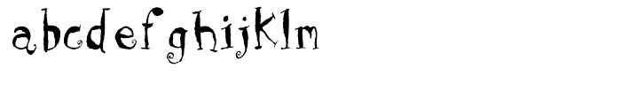 Holy Cow Regular Font LOWERCASE
