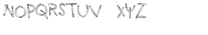 Holy Smokes Regular Font LOWERCASE