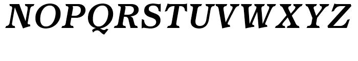 Homeland BT Medium Italic Font UPPERCASE