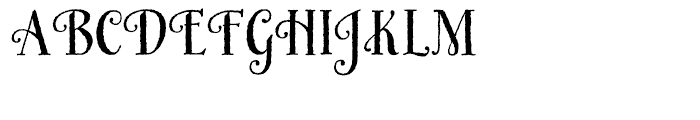 HoneyBee Regular Font UPPERCASE