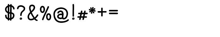 Hoofer Sans Black SC Font OTHER CHARS