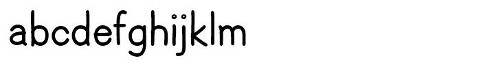 Hoofer Sans Black Font LOWERCASE