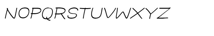 Hoofer Sans Medium SC Oblique Font LOWERCASE