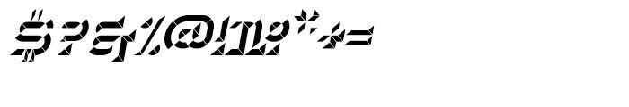 Hopeless Diamond B Italic Font OTHER CHARS