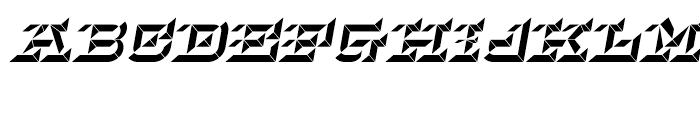 Hopeless Diamond B Italic Font UPPERCASE