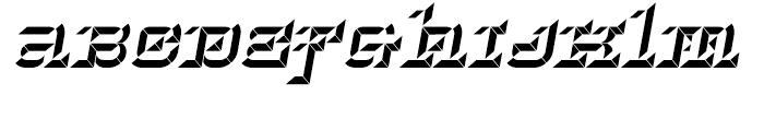Hopeless Diamond B Italic Font LOWERCASE