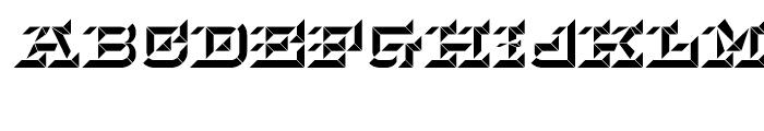 Hopeless Diamond B Regular Font UPPERCASE