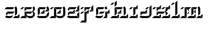 Hopeless Diamond B Regular Font LOWERCASE