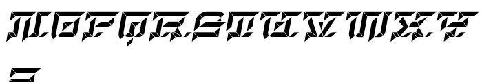 Hopeless Diamond C Italic Font UPPERCASE