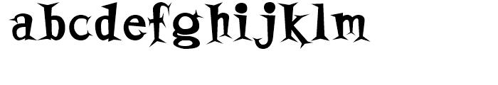 Horsefeathers Bold Font LOWERCASE