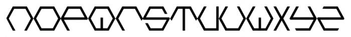 HONEYCOMBED Regular Font LOWERCASE