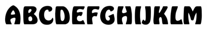 Hobo FS Bold Font UPPERCASE