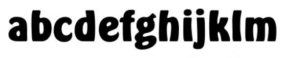 Hobo FS Bold Font LOWERCASE