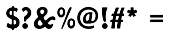 Hobo FS Medium Font OTHER CHARS
