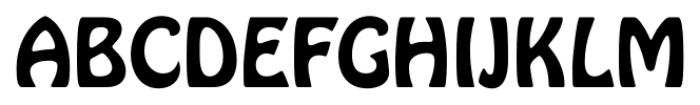 Hobo Std Regular Font UPPERCASE