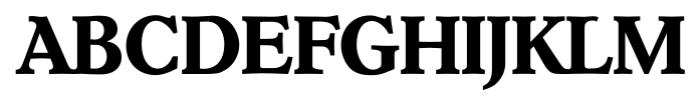 Hoboken Serial Bold Font UPPERCASE