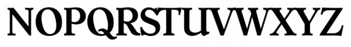 Hoboken Serial Medium Font UPPERCASE
