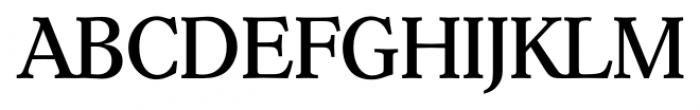 Hoboken Serial Regular Font UPPERCASE