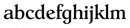 Hoboken Serial Regular Font LOWERCASE