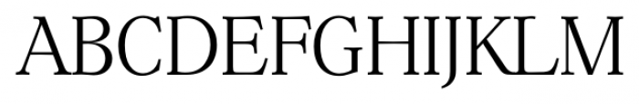 Hoboken Serial Xlight Font UPPERCASE