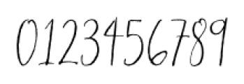 Hollyhock Regular Font OTHER CHARS