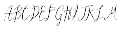 Hollyhock Regular Font UPPERCASE