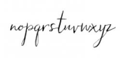 Hollyhock Regular Font LOWERCASE