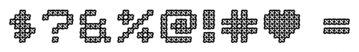 Home Sweet Home 1997 Outline Font OTHER CHARS