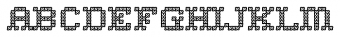 Home Sweet Home 1997 Outline Font UPPERCASE