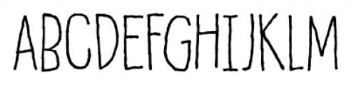 Honey Dew Regular Font UPPERCASE