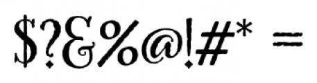 HoneyBee Regular Font OTHER CHARS