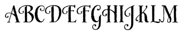 HoneyBee Regular Font UPPERCASE