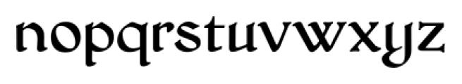 HoneyMead BB Regular Font LOWERCASE