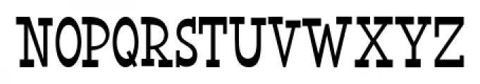 Horse Puckey JNL Regular Font UPPERCASE