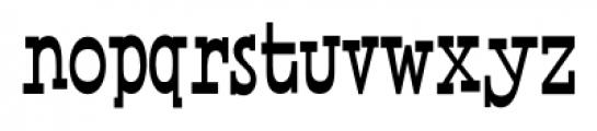 Horse Puckey JNL Regular Font LOWERCASE