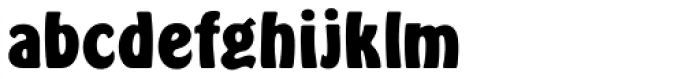 Hobo D Bold Font LOWERCASE