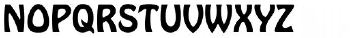 Hobo D Font UPPERCASE