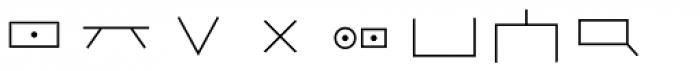Hobo Symbols Mod Font OTHER CHARS