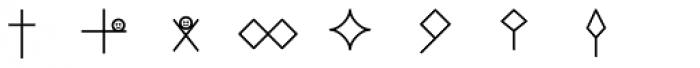 Hobo Symbols Mod Font UPPERCASE