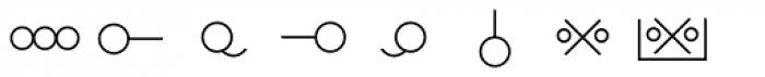 Hobo Symbols Mod Font LOWERCASE