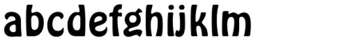 Hobo Font LOWERCASE